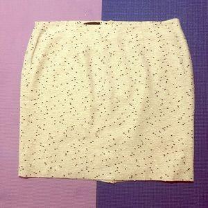 Talbots Petite Woman's Tweed Skirt